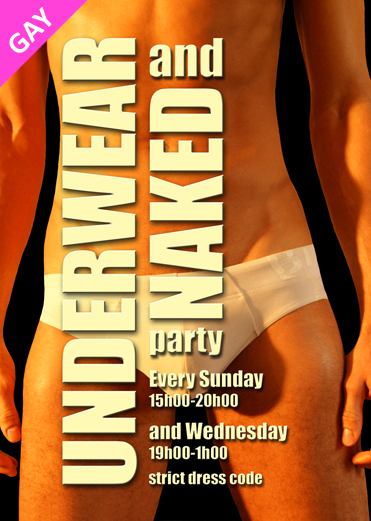 Underwear &  Naked (men only)